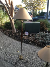 Floor Lamp and Coffee Table Lamp