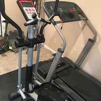Treadmill and elliptical machine. $299 for both Fairfax, 22033