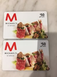 Michaels Steakhouse Gift Cards