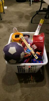 Children toys and books.  See details.