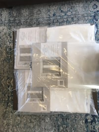Curtains 8 - 96 in (never used) Andover, 01810
