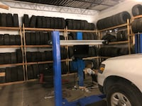 3D wheel alignment machine and lift