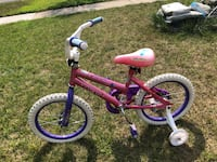 """NEXT Lil Gem 16"""" bicycle with training wheels Romeoville"""