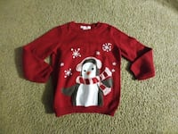 Girls Holiday Penguin sweater - size 4t