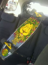 lion-themed skateboard Phoenix