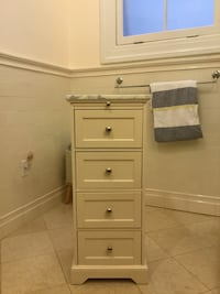 Pottery Barn Bath Tower with Marble Top Brookline, 02446