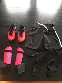 Cleats, shin pads, shorts and socks Calgary, T3M 0X5