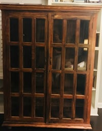 Solid Wood Armoire/Bookshelf Silver Spring, 20901