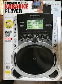 Emerson Karaoke Player with Lyrics Screen and USB Port Stafford, 22554