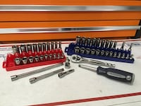 """Blue Point by Snap On Standard and Metric 1/4"""" Drive Master Socket Wrench Tool Set Wilmington, 19810"""
