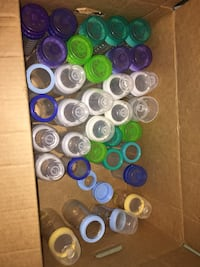 Assorted playtex liner bottles and liners Calgary, T3J 1G7