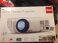 RCA Home Theater Projector box