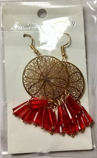red and gold-colored dream catcher 36 km