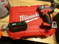 red and black Milwaukee brushless powerdrill Leicester, 28748