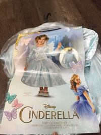 Fairy god mother costume brand new with tags ages 5-6