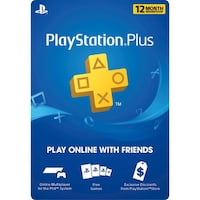 Sony 12 Month PlayStation Plus Membership! FAST SERVICE/RESPONSE! 47 km