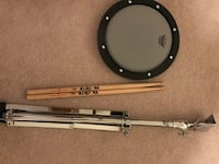 Remo silence practice pad and stand come with drum stick Calgary