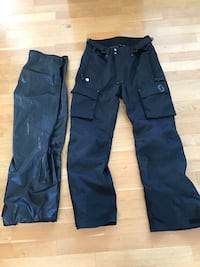 Scott Motorcycle Pants with knee pads: Size XL