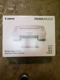 white and gray HP Deskjet desktop printer box Centreville, 20121