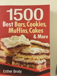 Brand new 1500 best bars, cookies, muffins, cake and more Alexandria, 22304