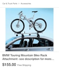 BMW bike lift and rack Gaithersburg, 20878