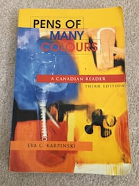 Pens of Many Colours book