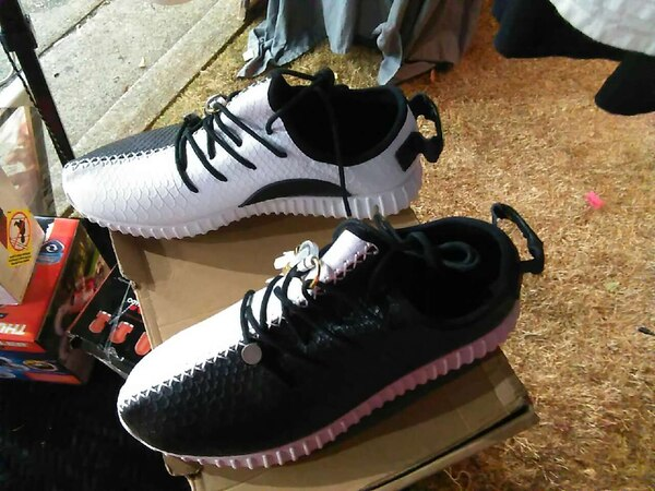buy popular 548c4 2dbd4 black and white adidas yeezy boots 350