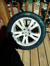 Mercedes-Benz 17 inch wheels Rockville, 20850