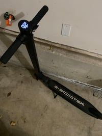 Folding Electric Scooter with Lock