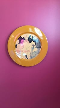 Moulin Rouge wall decor decorative plate