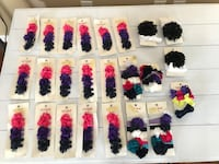 24 piece sets of girls hair accessories