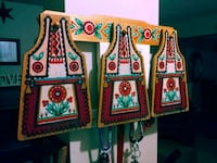 3 wooden aprons painted  Barrie, L4N 8P9