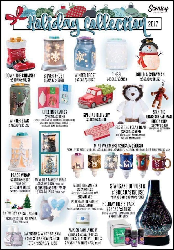 Scentsy Christmas Gifts.Used Scentsy Dealer For Sale In Midland Letgo