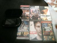 PSP with 6 games and Case Germantown, 20876