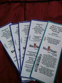 Six Flags Great Adventures Tickets Clementon, 08021