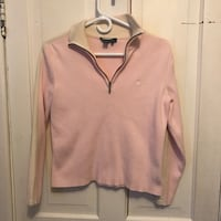 pink and beige half-zip sweatshirt Kingston, K7K 4M1