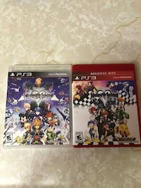 two assorted Sony PS3 game cases Fort Worth, 76244