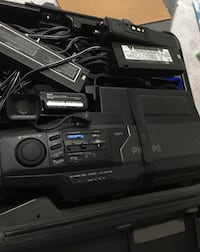 Phillips VHS Video Camcorder With Case  Columbia, 21044