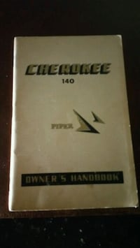 Cherokee aircraft owners manual