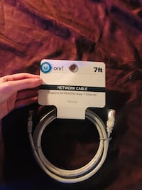 "7 foot Network Cable (""onn"" brand)"
