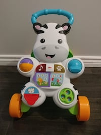 Fisher-Price Learn with Me Zebra Walker Playset