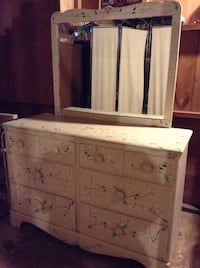 white wooden dresser with mirror Trumbull, 06611
