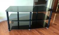 Glass TV stand Mississauga, L4W 4A8