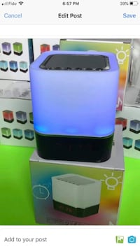 Smart Hifi  Bluetooth speaker / alarm clock and changes colour