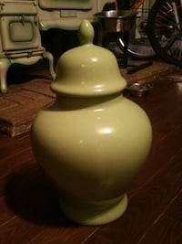 beige ceramic jar with lid 779 km