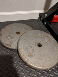 Set of 25lb Weight Plates