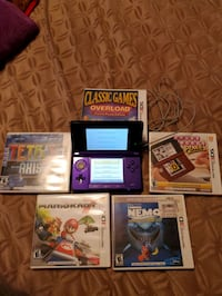 Nintendo3DS and 5 games