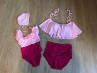 Mommy & Me swim suits. Size 5T and size small for mom  Salisbury, 21801