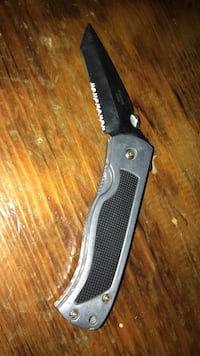 silver and black folding knife Grand Forks, 58201