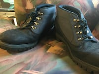 Blue Timberland boots. Men  Newton, 50208